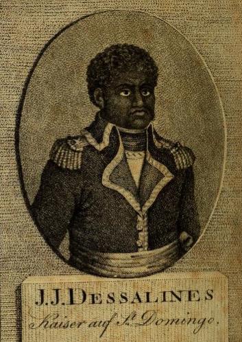 Dubroca, Leben des J.J. Dessalines, oder, Jacob's des Ersten Kaysers von Hayti (St. Domingo), 1804. (German translation).